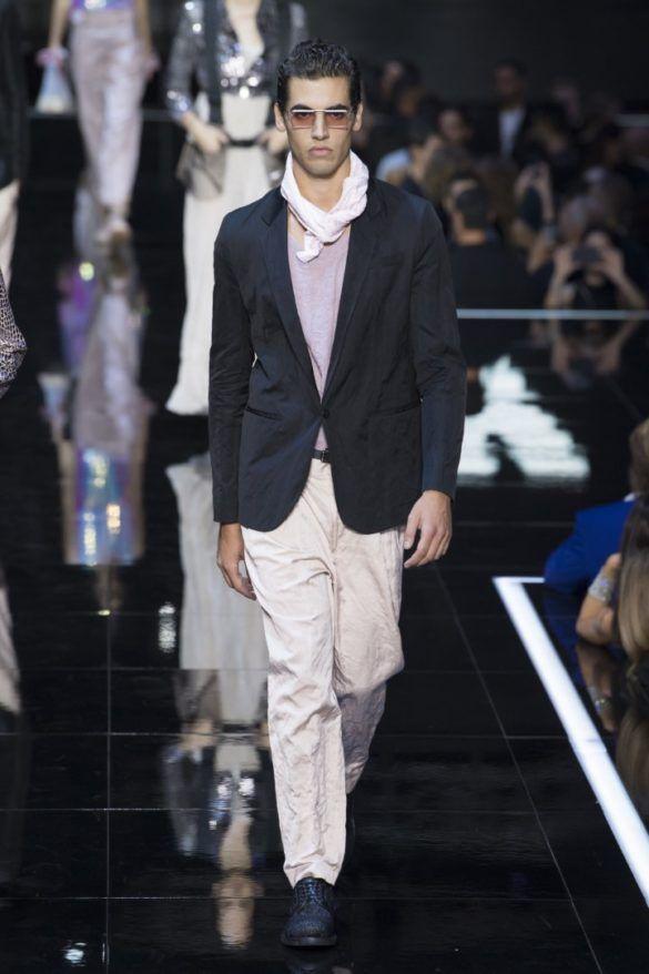 Emporio To Armani Ready Wear Milan Collection 2019 Springsummer dtCshrQ