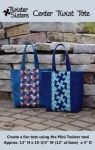 Center Twist Tote by Twister Sisters