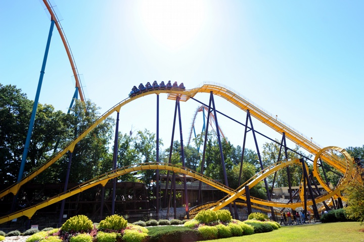 six flags ga opening day