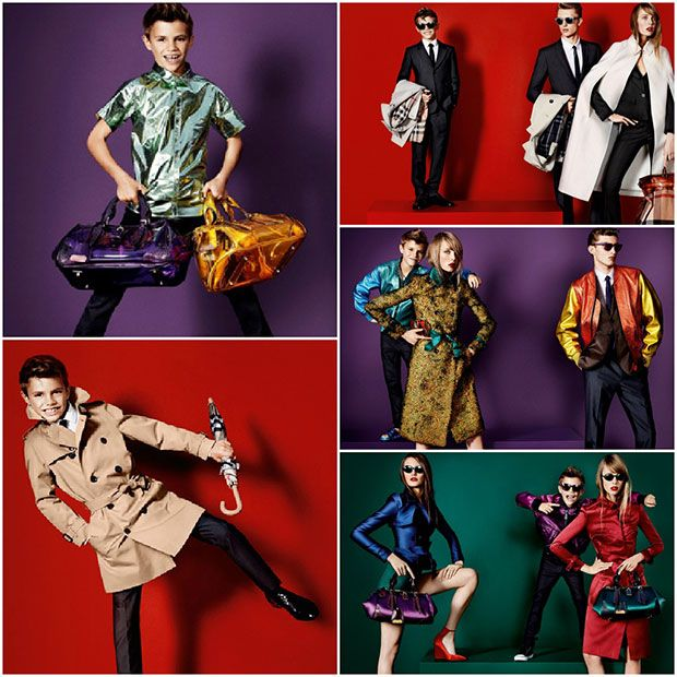 Romeo Beckham: Back in Burberry   Mens Fashion Magazine