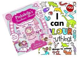 Deal of the Week - Play & Learn Girls This deal is filled with so much fun! The I Can Colour Everything! colouring book teaches you interesting facts as you colour. Join Pinkabella as she and her friends put on a fashion show! Get your Deal here: http://www.readerswarehouse.co.za/deal-of-the-week-play-learn-girls