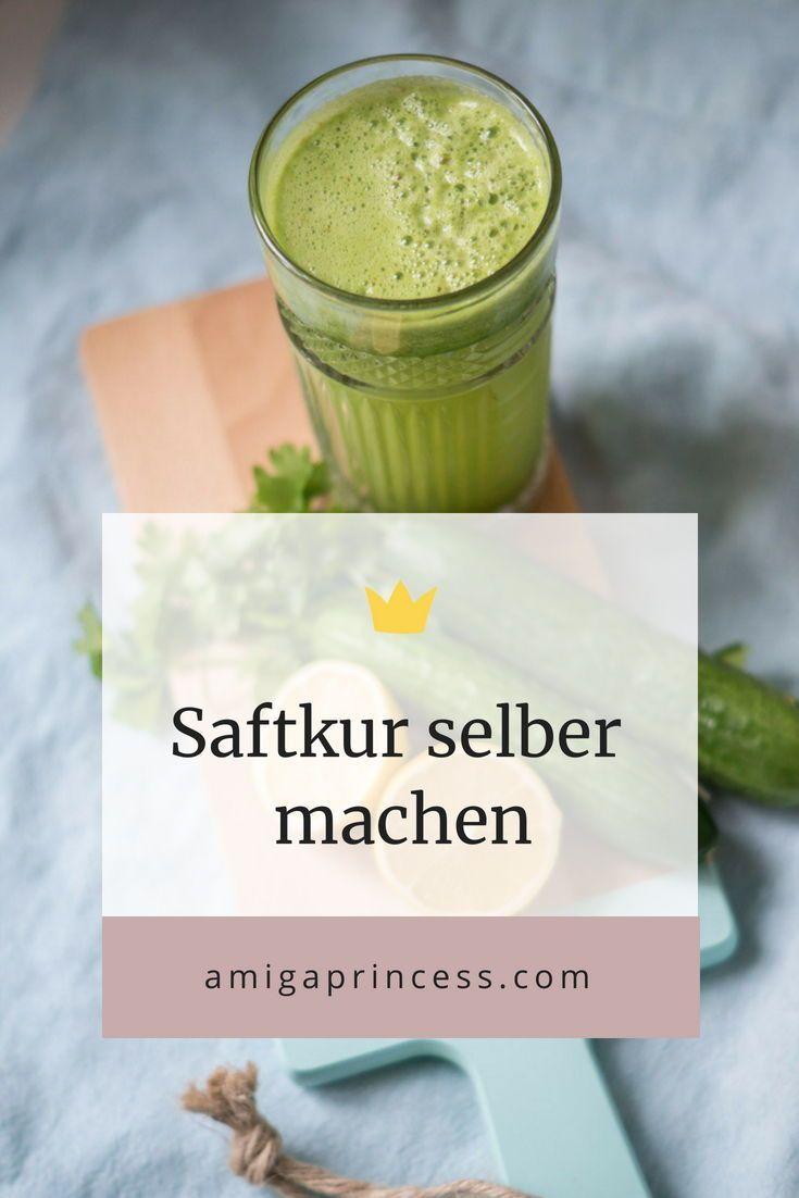 Saftkur Rezepte Fur 3 Tage Inkl Einkaufsliste Und Plan Detox