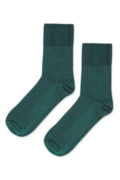 Slinky Ribbed Ankle Socks