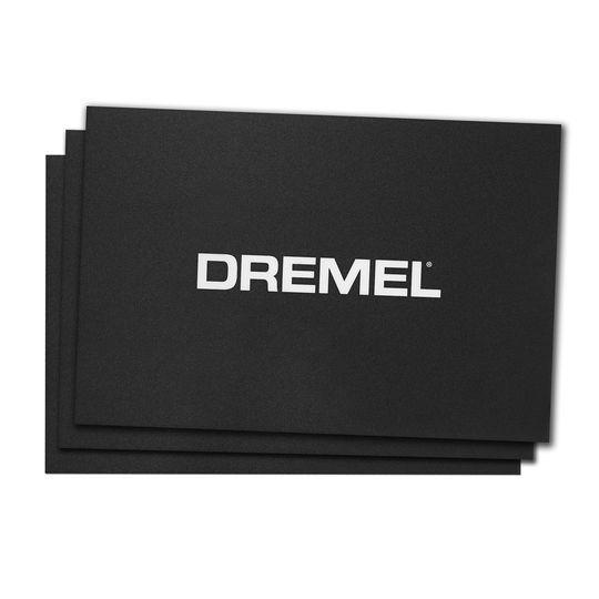 Dremel 3D Printing Build Sheets, 3 Pack