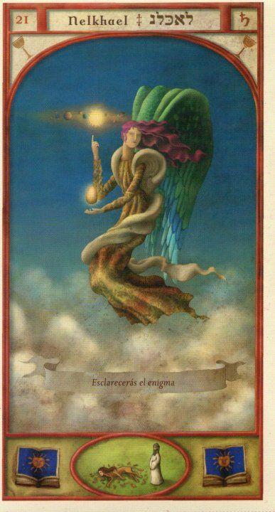 (21) NELCHAEL (Kabbalistic angel) protects those born 02 - 06 July, avoid bad influences and negative people. (ángel Cabalístico) protege aquellos nacidos 02 - 06 julio, evita las malas influencias y personas negativas.