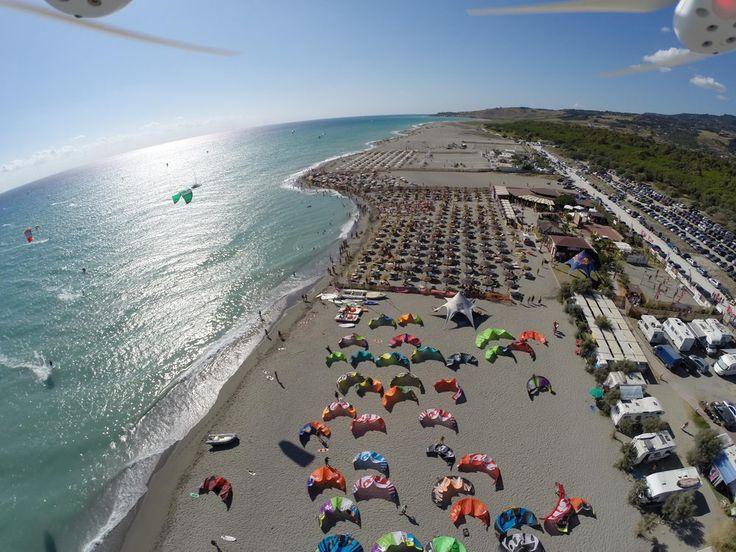 Mondiali di kitesurf all'Hang Loose Beach in Calabria