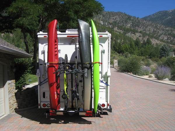 Vertical Yakups Brand Rv Kayak Carrier For Bikes Kayaks