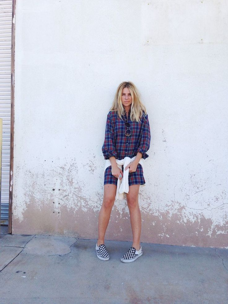 plaid + checks - casual & comfy