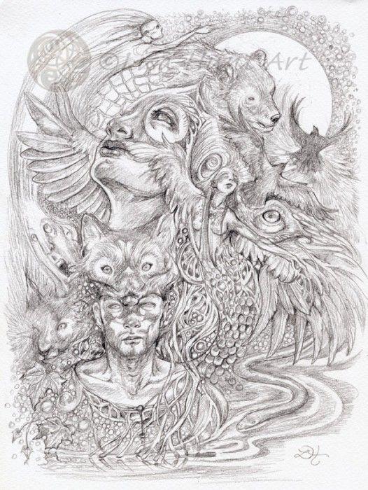 Women in Fantasy Illustration: Lisa Hunt   Kiri Østergaard Leonard