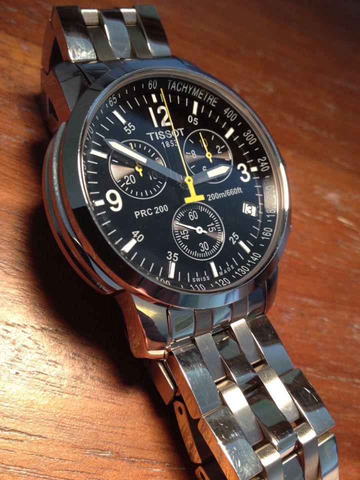 Tissot PRC200 quartz chronograph