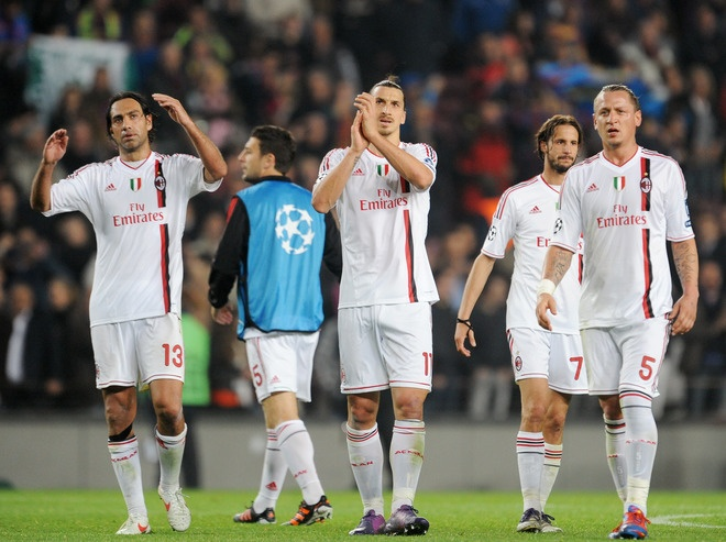 AC Milan vs. Barcelona (03.04.2012) The saddest part is ...