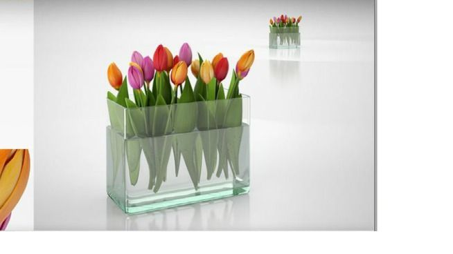 063. Tulip bouquet - 3D Warehouse