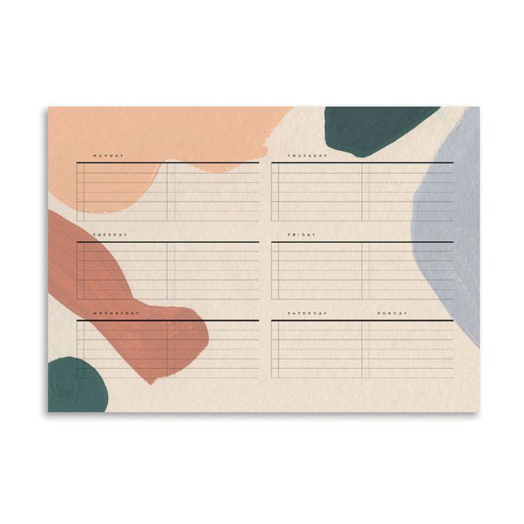 Moglea <b>weekly planner</b> pad