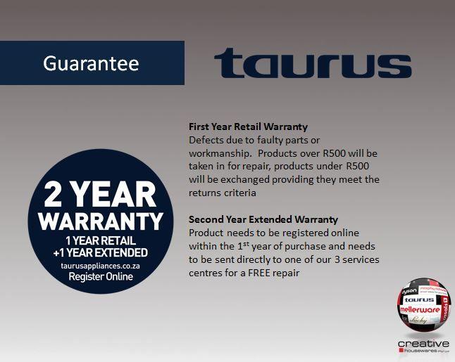 Taurus Guarantee
