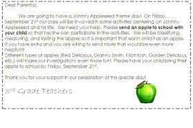 John Chapman, otherwise known as Johnny Appleseed, is still important to third graders! We have an Apple Theme Day around Johnny Appleseed ...