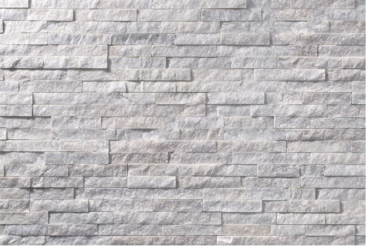 Scaglietta Bianca - Interlocking panel made by the gluing of quartzite stones of various colours.