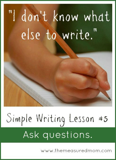 """The Simple Writing Lessons series shows you how to move away from writing prompts and toward helping kids become independent writers... check out this mini-lesson  on how to help kids who are """"stuck"""" after just 2-3 sentences!"""