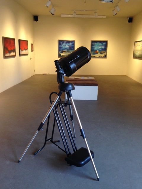 We have our telescope ready to go! Nocturne VII is shaping up to be a great week of events!!