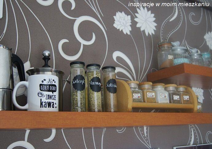 Półki Na Przyprawy I Akcesoria Kuchenne W Mojej Kuchni