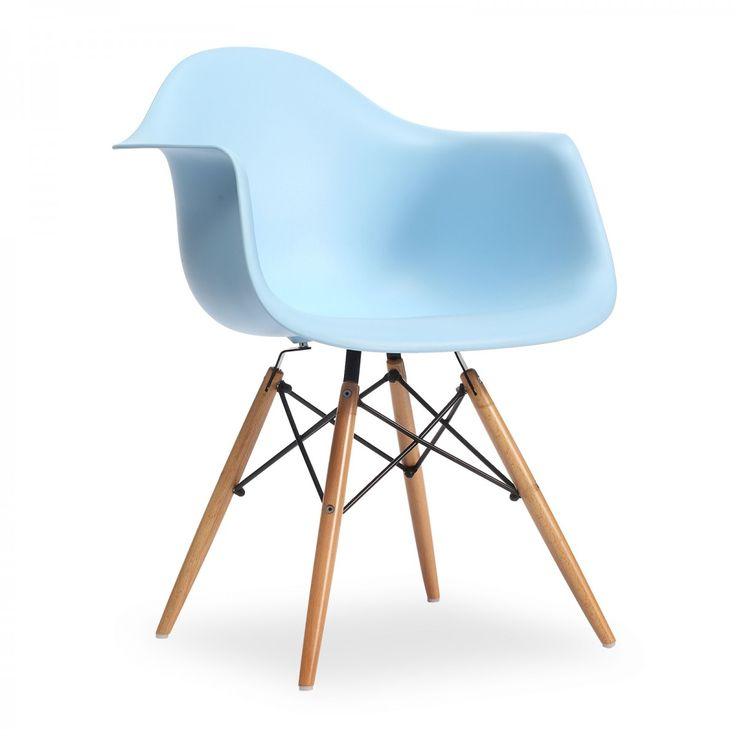 Les 25 meilleures id es de la cat gorie chaise daw sur pinterest rev tement - Fauteuil charles eames original ...