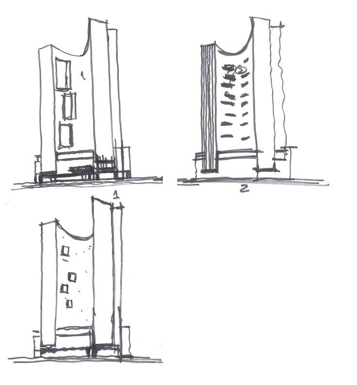 """""""Plaza Residences"""" un edificio que por su forma proporciona riqueza y movimiento al contexto urbano. Se convierte en un objeto escultórico que funge como escaparate y enmarca el monumento a Colón en una de las esquinas más vistosas de la avenida Reforma. Conoce más en: http://migdal.com.mx/proyectos/plaza-residences/"""