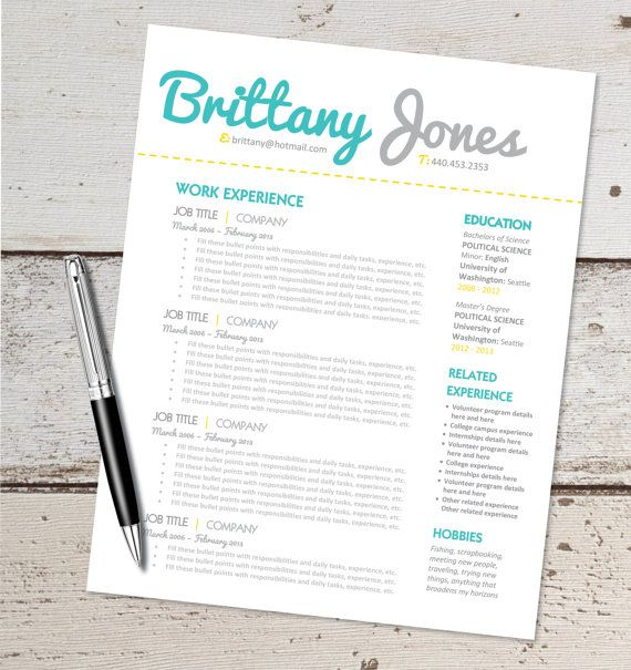 1000+ images about curriculum vitae ideas on Pinterest ...