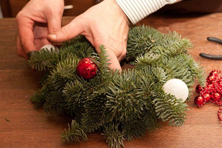 Мастер-класс от Игоря Линника: рождественский венок своими руками   информационное агентство «Мега-Урал»
