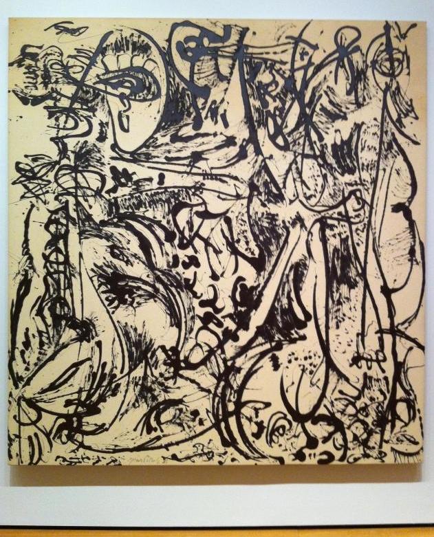 Jackson Pollock – saw this today at MoMA! Beautiful...