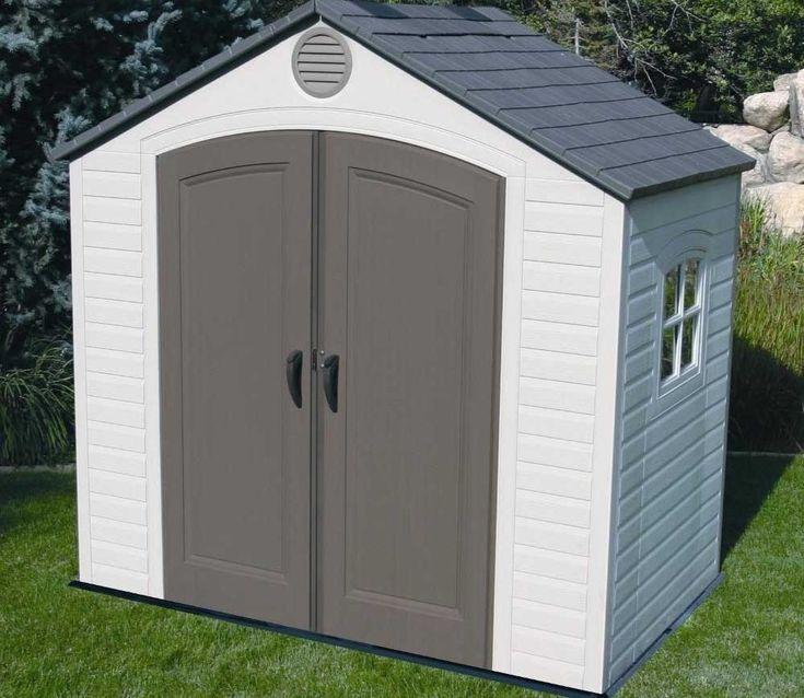 lifetime 8ft x 5ft plastic shed - Garden Sheds 6x7