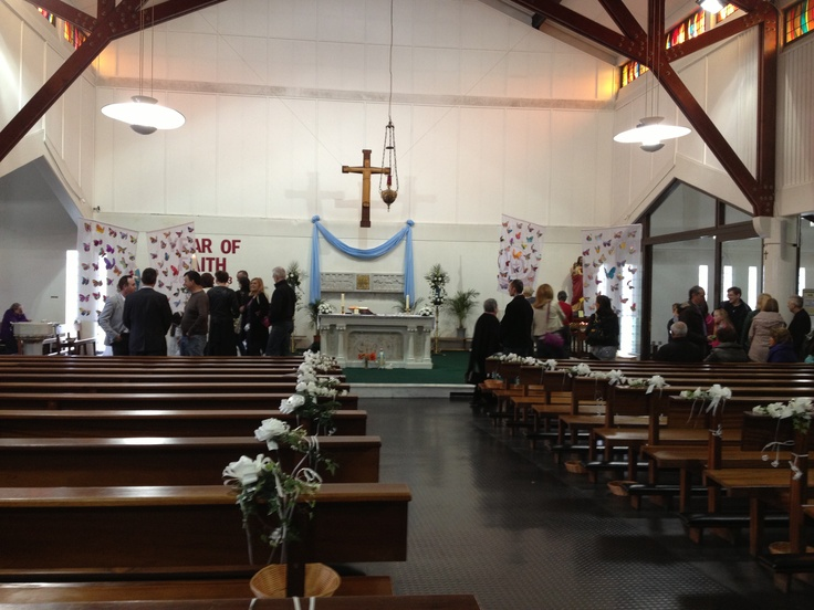 Decorated for communions