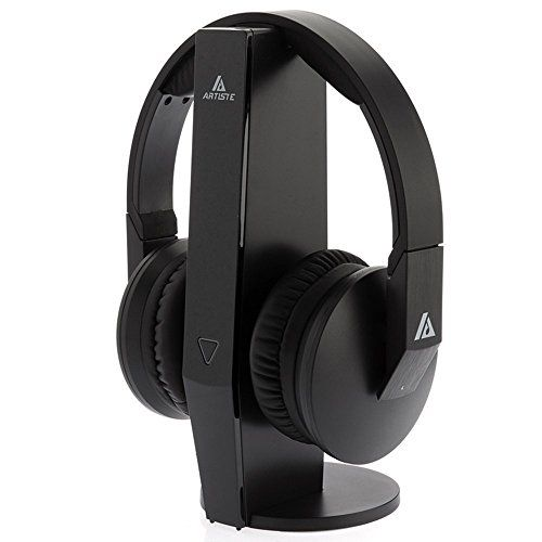 Special Offers - 2.4GHz Wireless TV Headphone Artiste ADH500 Wireless Headphone PF 100ft Effective Distance HiFi Headset with 3.5mm Jack for Computer TV Black For Sale - In stock & Free Shipping. You can save more money! Check It (January 28 2017 at 03:43AM) >> https://eheadphoneusa.net/2-4ghz-wireless-tv-headphone-artiste-adh500-wireless-headphone-pf-100ft-effective-distance-hifi-headset-with-3-5mm-jack-for-computer-tv-black-for-sale/