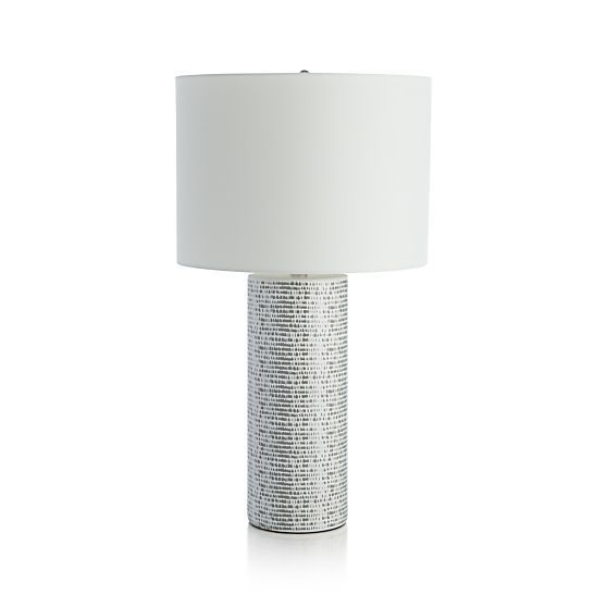 Roscoe Table Lamp In Table U0026 Desk Lamps Crate And Barrel For The .