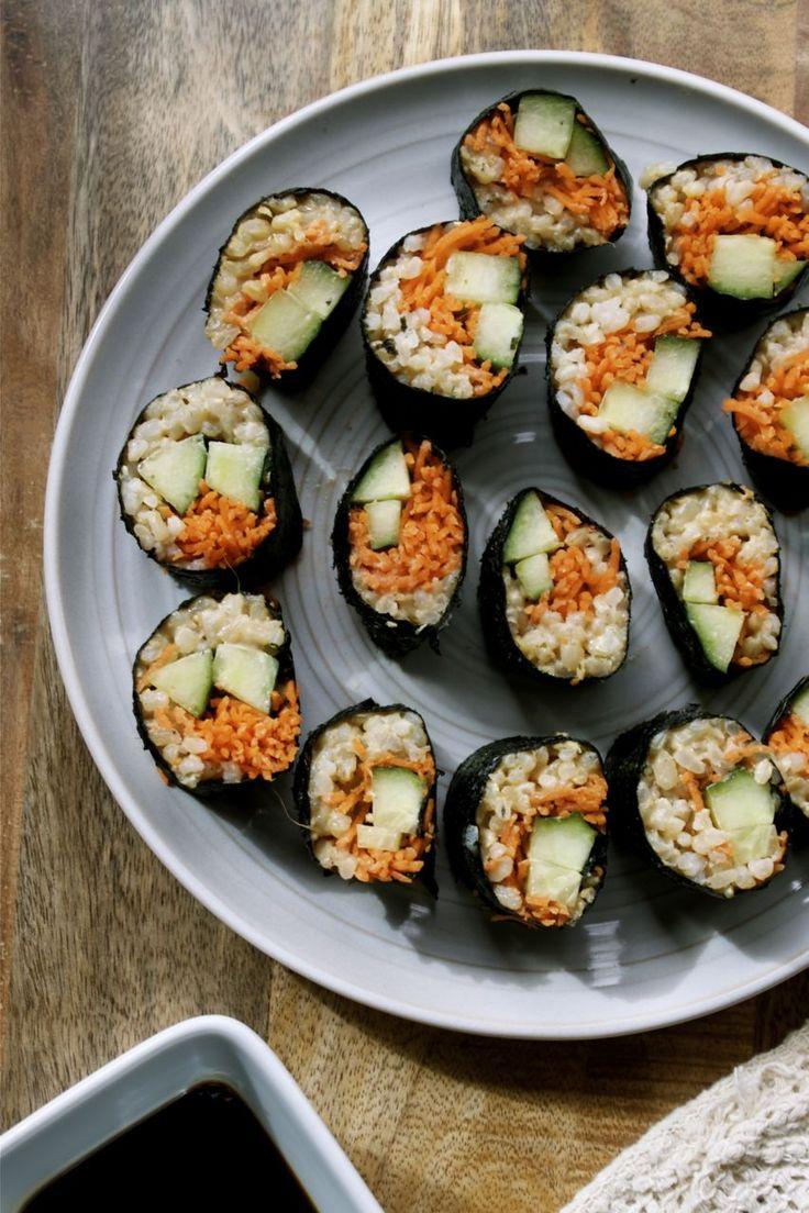 veggie sushi rolls | Successful recipes | Pinterest