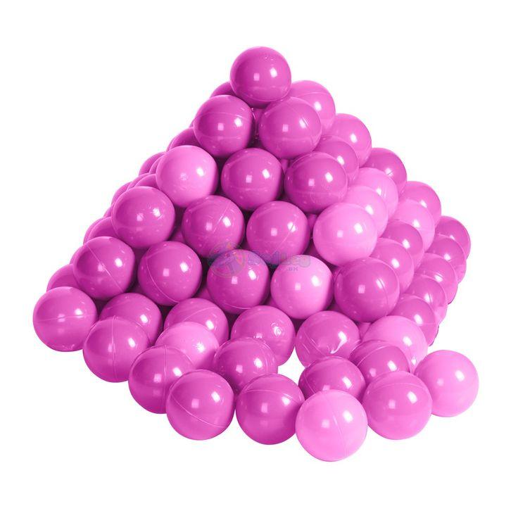 Pakke med 200 stk. ekstra bolde til legeteltet eller boldbassin.