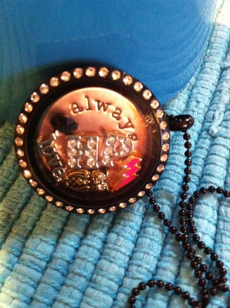 Harry Potter Origami Owl locket!!  Always...just as Snape described his love for Lily :)