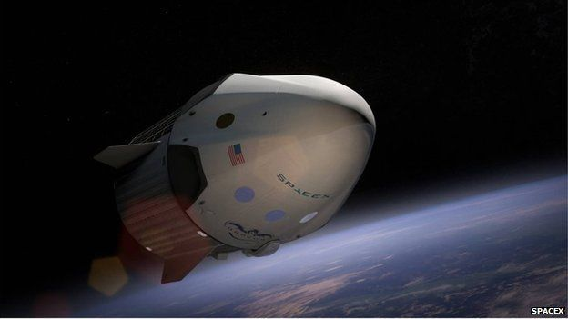 SpaceX to test launch abort system - Source - BBC News - © 2014 BBC #SpaceX, #Launch, #Abort, #Science
