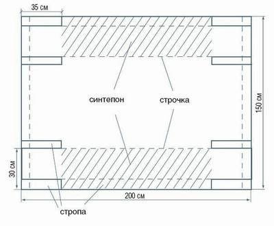 pattern hammock
