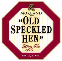 Old Speckled Hen:  Great English ale, nicely malted, slightly sweet, low carbonation.  Great for a damp rainy night.