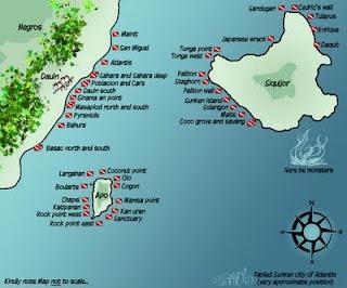 dumaguete - siquijor - apo island