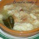Zuppa di pane cotto, ricetta semplice