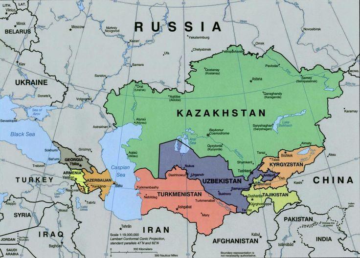 Tajikistan | Central Asia Maps | Pinterest | Central asia map, Asia ...