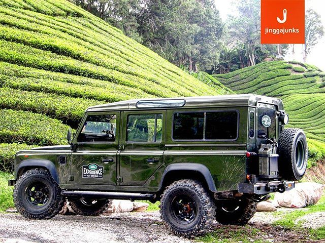 To sit in the shade on a fine day and look upon the verdant green hills is the most perfect refreshment  #Landrover #Defender 110