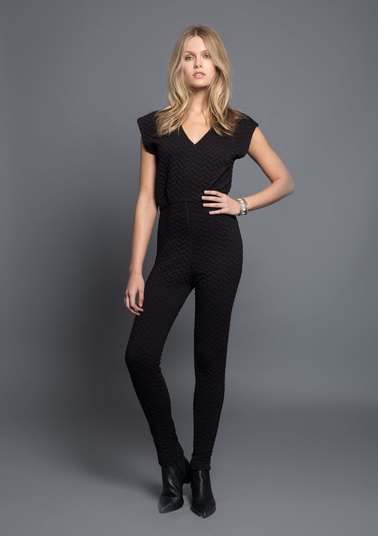 Justine Jumpsuit - shop Hunter Bell Fall 2015