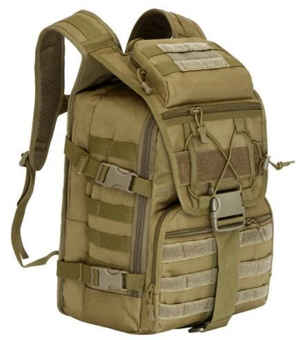 Facecozy Outdoor Camping Hiking Waterproof Military Backpack Men&Women Softback Travel Unisex Tactical Backpack Climbing Mochila