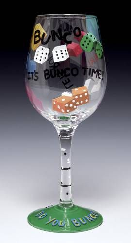 Bunco. Mom used to play and the laughing that would go on and on.:-) :-) :-) :-) :-)