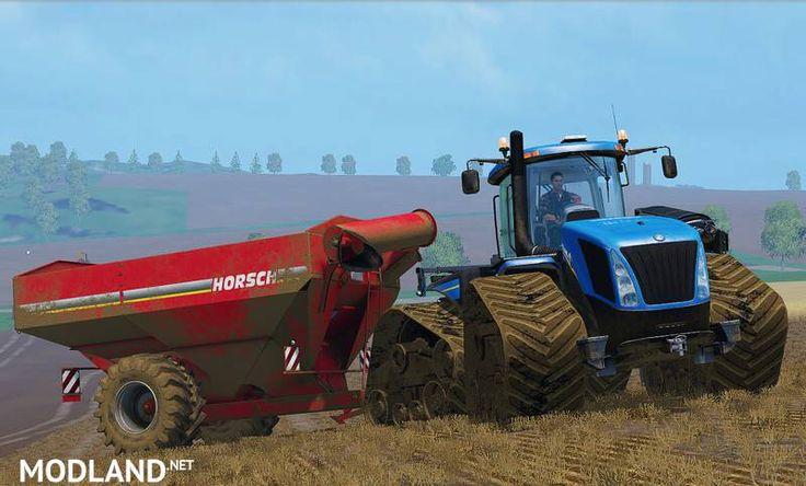 Hauling in Farming Simulator 2015
