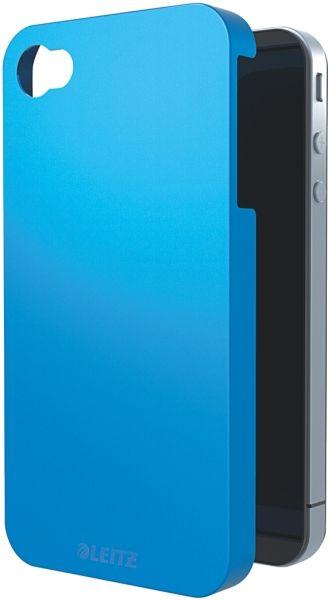 ETUI LEITZ COMPLETE WOW NA NA IPHONA 4/4S METALICZNY NIEBIESKI  Zabezpiecz swojego iPhona dzięki etui w stylowych i przykuwających wzrok metalicznych kolorach.  cena netto  64,11 zł