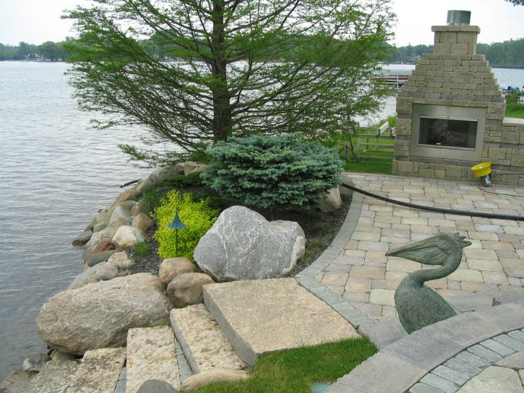 123 best lakeside landscapes images on pinterest | outdoor living ... - Award Winning Patio Designs