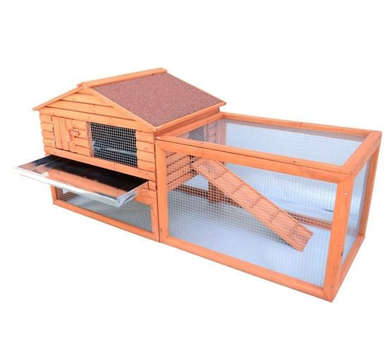 """62"""" Wooden Outdoor Rabbit & #Bunny #Hutch - FREE SHIPPING"""