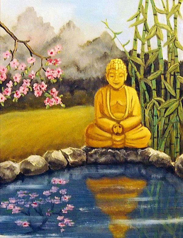 Client Stories: Calm and Serene Golden Buddha